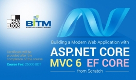 Building a modern Web Application with ASP.NET Core, MVC 6 and EF Core from scratch