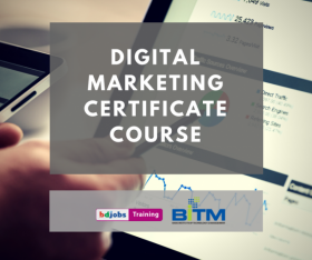 Digital Marketing Certificate Course