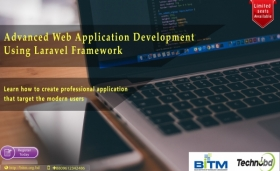 Advanced Web Application development using Laravel Framework