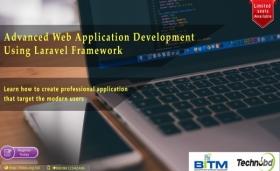 Advanced Web Application development using Laravel Framework(5th batch)