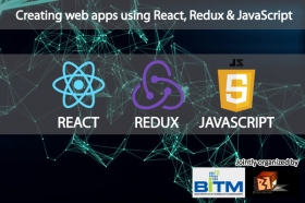 Creating web apps using React, Redux & JavaScript